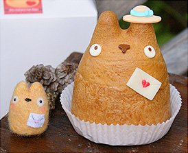 "The only confectioner in the world where you can buy ""Totoro-shaped cream puffs"""