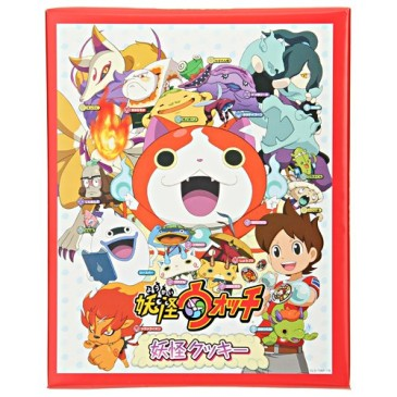 YoKai-shaped cookies and chocolates, confections containing free seals that delight children
